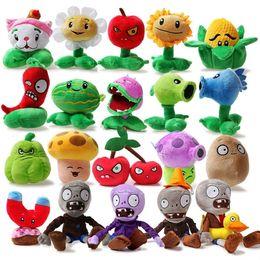 Wholesale Images Figures - Hot game Plants VS Zombies Plants VS Zombies Stuffed Plush Toy Vivid image Mini Soft Plush Doll 25pcs Multiple choice 11