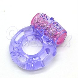 Wholesale Stretchy Vibrating Cock Rings - Stretchy & Reusable Clit Vibrating Cock Ring, Great Sex Toy for Male, Adult Sex Products