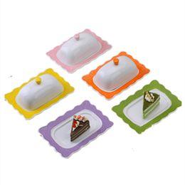 2019 контейнеры для сыра Керамическая тарелка для масла с крышкой Поднос для говядины и сала Подносы для отеля дешево контейнеры для сыра