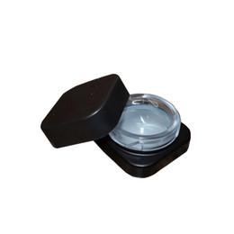 2019 сок жидкого испарителя Оптовая 5 мл куб квадратная стеклянная банка с детской крышкой премиум стеклянный концентрат толстый масляный контейнер Dab черный белый цвет