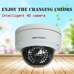 Modelo ds on-line-Novo modelo 4MP 4.0MP IP POE Câmera dome ao ar livre à prova d 'água web cam webcam DS-2CD2142FWD-IS substituir DS-2CD2145F-IS DS-2CD3145F-IS