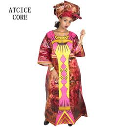 африканские платья для женщин традиционная африканская одежда дизайн одежды новый базин вышивка длинное платье с шарфом supplier embroidery african clothes от Поставщики вышивка африканской одежды