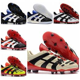 NIKE Botas de fútbol de alta calidad originales Dream Back 98 Predator Accelerator Champagne FG / IC Zapatos de fútbol Zapatos de fútbol Zapatillas desde fabricantes