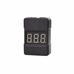 Canada vente en gros bx100 1-8s testeur de tension de batterie lipo vérificateur d'alarme buzzer basse tension avec deux haut-parleurs de qualité supérieure Offre