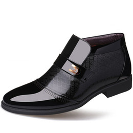 Новые формальные туфли онлайн-Новые Мужчины Формальные Обувь Кожа Оксфорд Обувь Для Мужчин Платье Острым Носом Бизнес Свадьба Zapatos Де Hombre