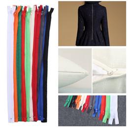 ferramentas de confecção Desconto 500 pcs Cor Mix Nylon Bobina Zíperes Ferramentas De Costura para Artesanato de Costura Sob Medida Cores Sortidas
