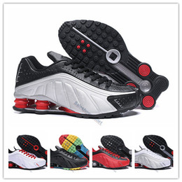 quality design ee87d c4fd5 r4 chaussures homme Promotion Nike Air Max Shox Vente chaude Shox Oz Hommes  Chaussures de Course