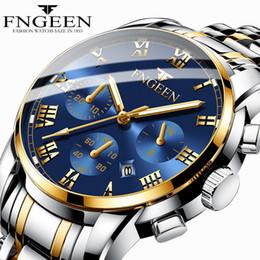 2019 тренд наручных часов Men Watches 2019 Top  Business Quartz Wrist Watch Steel Strap Decoration Big Dial Man Watch Fashion Trend Male Clock дешево тренд наручных часов