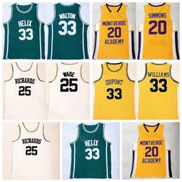 b720ebc10d85 ben simmons Sconti College High School Basketball 20 Ben Simmons Jersey  Montverde Academy Eagles 25 Dwyane