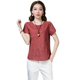 411c69678b4 Anself Sexy Women Casual Summer Tops XXXL Plus Suze Cotton T-shirt O Neck  Short Sleeve Slim Tee Shirt Femme Dark Blue Red Yellow discount red blue  plaid ...