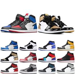 Mens 1s Jampman Negro Toe homenaje a la página principal chicago Zapatos de baloncesto chaep medio Bred las zapatillas de deporte de diseño multicolor de oro encima de pino verde desde fabricantes