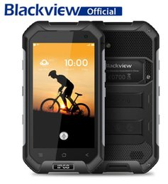 Celular 4,7 polegadas on-line-Original Blackview BV6000 4.7 polegada 4G Smartphone Android 6.0 MTK6755 Octa Núcleo 3 GB RAM 32 GB ROM 5MP + 13MP IP68 Celular À Prova D 'Água