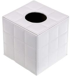 Portapantaloni in pelle per ufficio, portapacchi quadrato con pompetta Porta dispensatori per carta, portafazzoletto con fondo magnetico per da