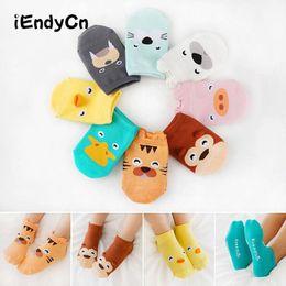 2019 calzini bambino corea [Animal Socks Stereo Socks Words, Corea Nuovo stile Cartoon bambini calzini Bambino antiscivolo Floor hxp0001 calzini bambino corea economici