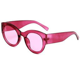 Marcas de gafas de sol de moda online-Marca de moda de lujo gafas de sol para mujeres hombres gafas redondas explosión para hombre mujer gafas de sol UV400 gafas de protección gafas gafas de sol