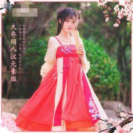 pokemon azul Desconto Anime Cosplay King Da Qiao Glória Vestido Acient Vestido Chinês Mulher HanFu Z
