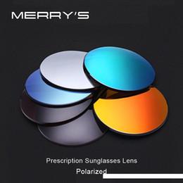 Merrys polarizzata Serie 1.56 1.61 1.67 prescrizione CR-39 resina asferici Occhiali da sole Lenti miopia Trattamento lente UV400 da