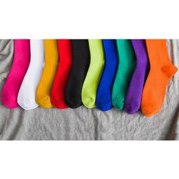 2019 nylon di alta coscia all'ingrosso Calze di lusso da donna Fashion Designer Calze da donna di moda Calze di cotone Calze per amore Pure Color Mix Color