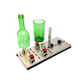 botellas de reciclaje Rebajas Cortador de botella de vino de vidrio ajustable Cortadores de botella de alta resistencia y dureza para máquina de corte Herramienta de reciclaje artesanal DIY