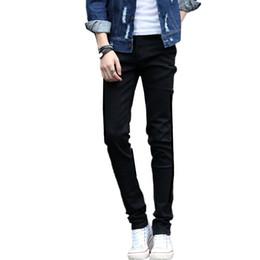 Y2011-A1326 2018 printemps automne nouvelle fermeture à glissière version coréenne hommes tendance de la mode jeans pas cher en gros Vente directe d'usine ? partir de fabricateur