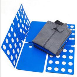 2019 pasta de roupa de roupas Atacado-Crianças Crianças Baby Dress T Shirt Dobrável Clothes Folder Flip Lavanderia Organizer Board pasta de roupa de roupas barato