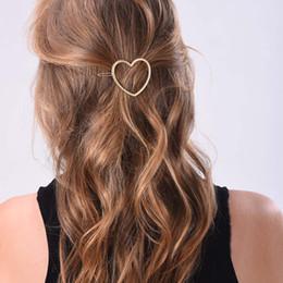 gancho para hairpin Desconto 1 pc mulheres meninas estrela coração grampos de cabelo lindo metal hairpins acessórios para o cabelo hairband titular pauzinhos
