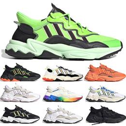 2020 New arrivel 3M chaussures de course réfléchissants pour hommes, femmes Neon Green solaires Tones Halloween Jaune noyau noir sport Chaussures de