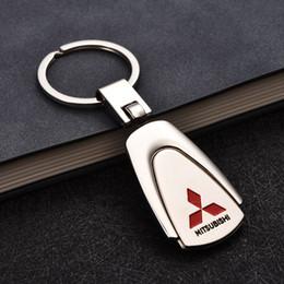 Accessori auto 3D Portachiavi in metallo Portachiavi auto per Mitsubishi Honda Toyota Jeep Audi Lexus Ford Subaru Volkswagen Portachiavi auto Uomo regalo da