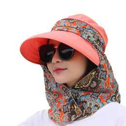 chapéus de sol dobráveis mulheres Desconto Mulheres Chapéus de Verão Palas de Sol Cap Dobrável Anti-UV Ao Ar Livre Praia Esporte Chapéu B2Cshop