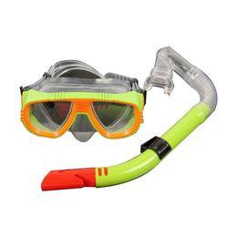 2019 mergulho livre Máscara de Snorkel Anti-Fog Respiração Livre Anti-Vazamento Top Dry Snorkeling Set Praia, Piscina, Natação, Mergulho mergulho livre barato