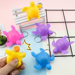 2019 пластиковые ключи для детей Творческий Vent Сожмите черепаха игрушка куклы 7см Пластикового Lay яйцо Маленькой Черепахи Нового Strange Key Chain небольшой кулон Дети подарки L436 дешево пластиковые ключи для детей