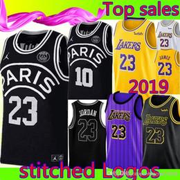 a706ad80709de Bulls 23 Michael AJ NEYMA 10 JR Black Jersey Los Angeles Laker 23 LeBron  James city Basketball Jerseys Cheap sales cheap lebron jerseys for sale