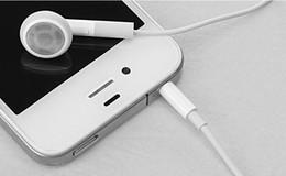 2019 3gs mic Venta al por mayor 200pcs blanco auricular con micrófono para Apple iPhone 6 más 5S 5 5C 4 4S 3GS mejor calidad para usted Envío gratis 3gs mic baratos