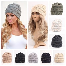 Deutschland Mode Dame Beanies Cap Caps Mädchen Visier Hüte Mädchen Winter Warme Mütze Erwachsene Woolen Strickmützen Casual Kopfbedeckung ohne Loch Versorgung