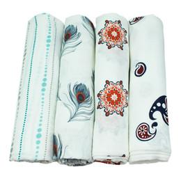 Аденное пеленание одеяла онлайн-Aden Anais Многофункциональные конверты для новорожденных, получающих одеяла Постельное белье детское 100% бамбуковое волокно пеленание детское одеяло