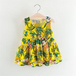 Bonne qualité 2019 Toddler Girls Dress Enfants Fille Floral Princesse Dress Enfants Vêtements de fête Bébé Fille robes pour fille ? partir de fabricateur