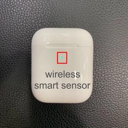 Chip H1 Gene2 con custodia di ricarica Bluetooth Auricolare Touch, Connessione a iCloud, Sensore intelligente, Numero di serie pk Airpods 5 + pezzi DHL LIBERO da microfono a cuffia con zip fornitori