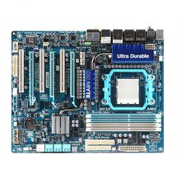 placas base de fru Rebajas Placa base AM3 790FX original para placa base Gigabyte GA-MA790FXT-UD5 MA790FXT-UD5 AM2 DDR2 Desktop Boards