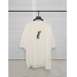 2019 t mouse 2020 New Vetements T Shirt Uomo Donna Casual Lovely Mouse Ricamo Vetements T-Shirt Coppia Amanti Vetements in cotone Top Tees t mouse economici