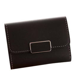 Discount best handbags - 2019 Best Price Women Simple Short Wallet Hasp  Coin Purse Card Holders b98ff069eb8db
