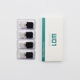 2019 OVNS JC01 Remplacement 0.7ml 1.5Ohm 4pcs / pack Céramique Gousses 1.8ohm Têtes pour JC01 Batterie Kit Authentic ? partir de fabricateur