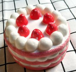 Puppenfutter online-Squishy Toys Simulierte Lebensmittel Kuchen Eis Milch Donut kann ttworld Squeeze Cute Handy Strap Geschenk für Kinder lol Puppen lol squishy erholen