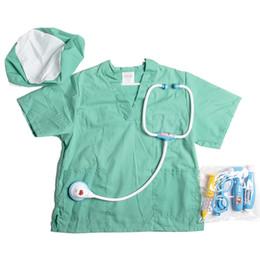 Canada Enfants Pretend Play Toys Infirmière Chirurgie Médecin Rôle Play Toy Set Costume De Déguisement Ensemble pour Garçons Filles Nouveaux Jouets pour Enfants 2018 Offre