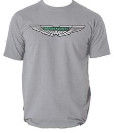 equipo de polo Rebajas Aston Martin Camiseta T Racing Unisex Team Mens Polo 2017 Db5 Hombres Mujeres Unisex Moda camiseta Envío Gratis Divertido Cool Top Tee negro