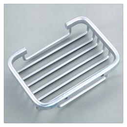 piatto di sapone montato Sconti Portasapone Porta-sapone in alluminio Porta-doccia-bagno Cestello per montaggio a parete Montato facilmente su qualsiasi parete