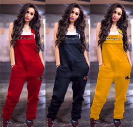Argentina Mujeres de la primavera Bordado Campeones Cartas Jumpsuit Casual Suspender Pantalones Monos de manga corta Romper Brace Pantalones S-2xl A3202 cheap xl jumpsuits Suministro
