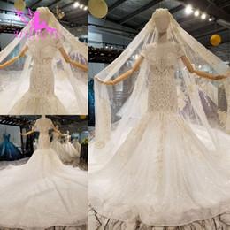 e7290593476d vendita all ingrosso abito da sposa cinese abiti di tulle lungo plus size  Boho bianco raso abito vintage abiti da sposa di maternità spose abito da  sposa ...