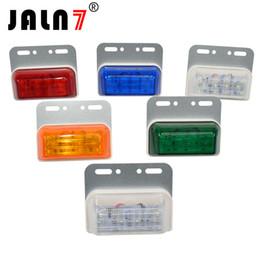 Luces de señal del camión JALN7 DC 24 V LED 6D LED Auto de recogida Camión Indicadores laterales de camión Luz del remolque Luz antiniebla trasera DRL desde fabricantes