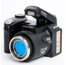 novas filmadoras profissionais Desconto 2019 novo POLO D7200 câmera digital 33MP FULL HD1080P zoom óptico de 24X Auto foco Profissional Camcorder MOQ: 1PCS