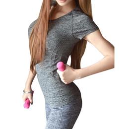 2019 magliette camouflage unisex all'ingrosso T-shirt da donna manica corta in cotone a rapida asciugatura Fitness Fitness T-shirt da donna T-shirt da donna T-shirt da donna asciutta
